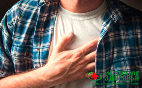 Опоясывающая боль в желудке и спине одновременно