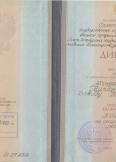 Гвирджишвили Давид Тенгизович:фото сертификатов, диплома