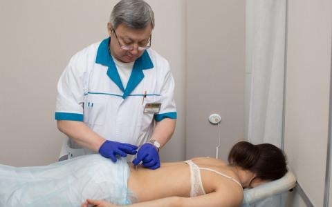 Иглорефлексотерапия при остеохондрозе