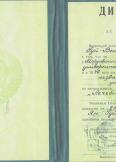 Ян Владимир Юрьевич:фото сертификатов, диплома