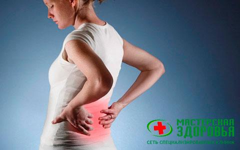 Боль в спине: причины, лечение и профилактика
