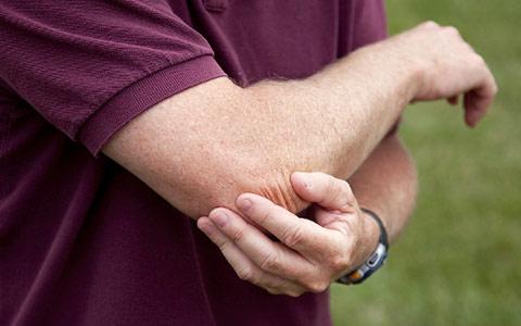 Боль в локтевых суставах рук височно нижнечелюстной сустав где находится