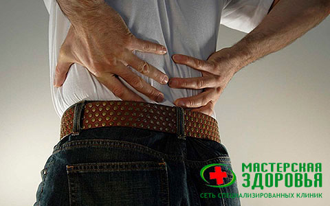 Дорзальная (дорсальная) протрузия диска позвоночника: симптомы, лечение