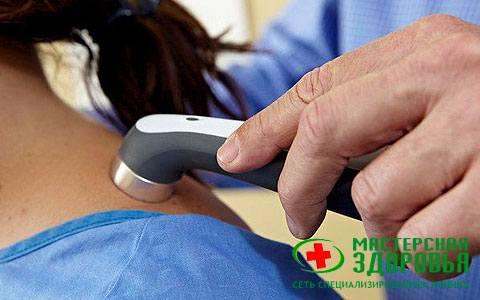 Ультразвуковая терапия для лечения позвоночника и суставов