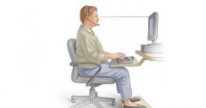 Как не загубить спину, если каждый день работаешь за компьютером